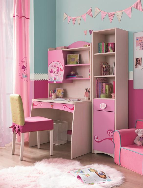 Elsa kinderbureau meisjeskamer compleet Kinderkamer, kinderbed ...