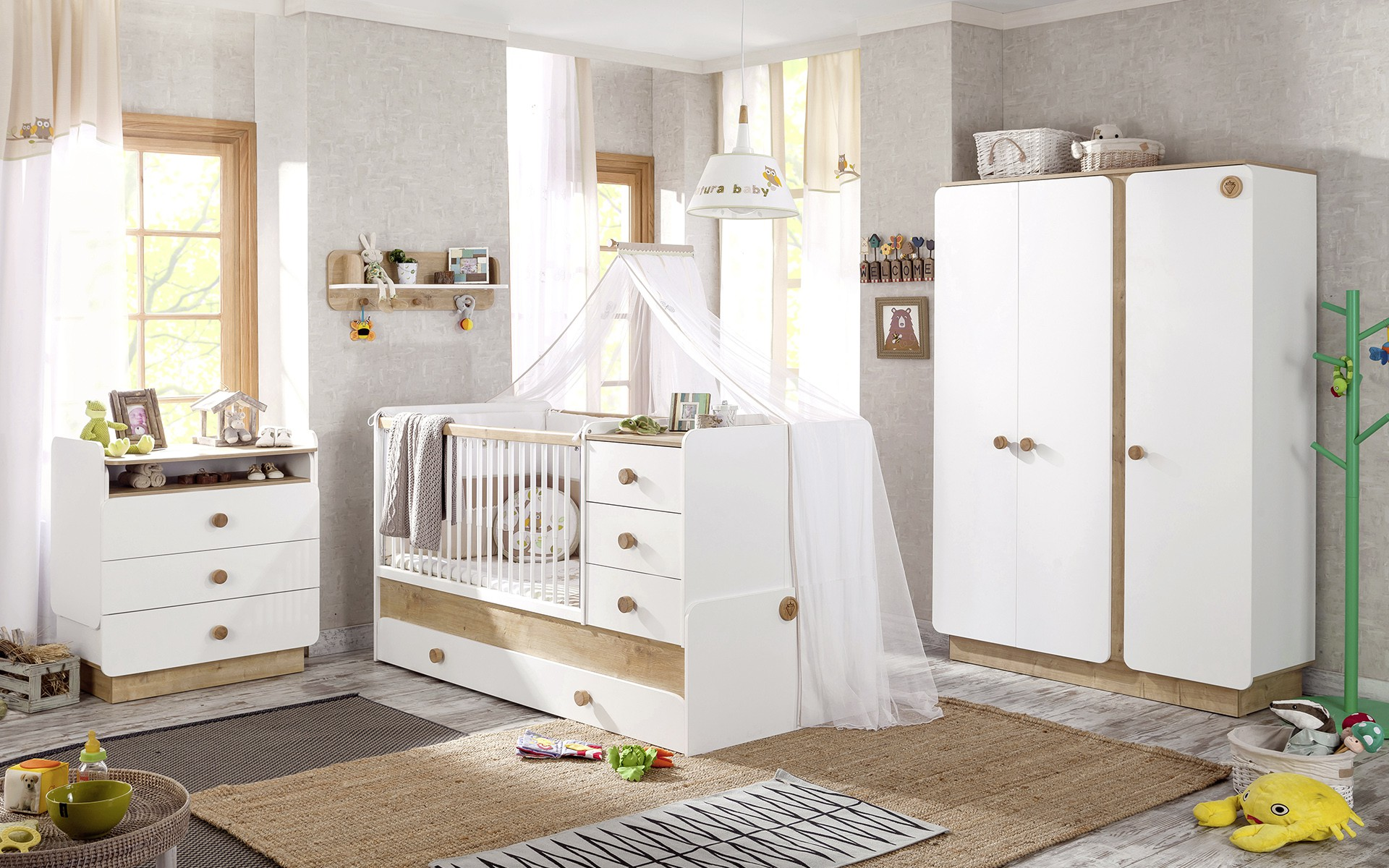 Baby slaapkamer: trendy babybox wit must haves hippe mama s.