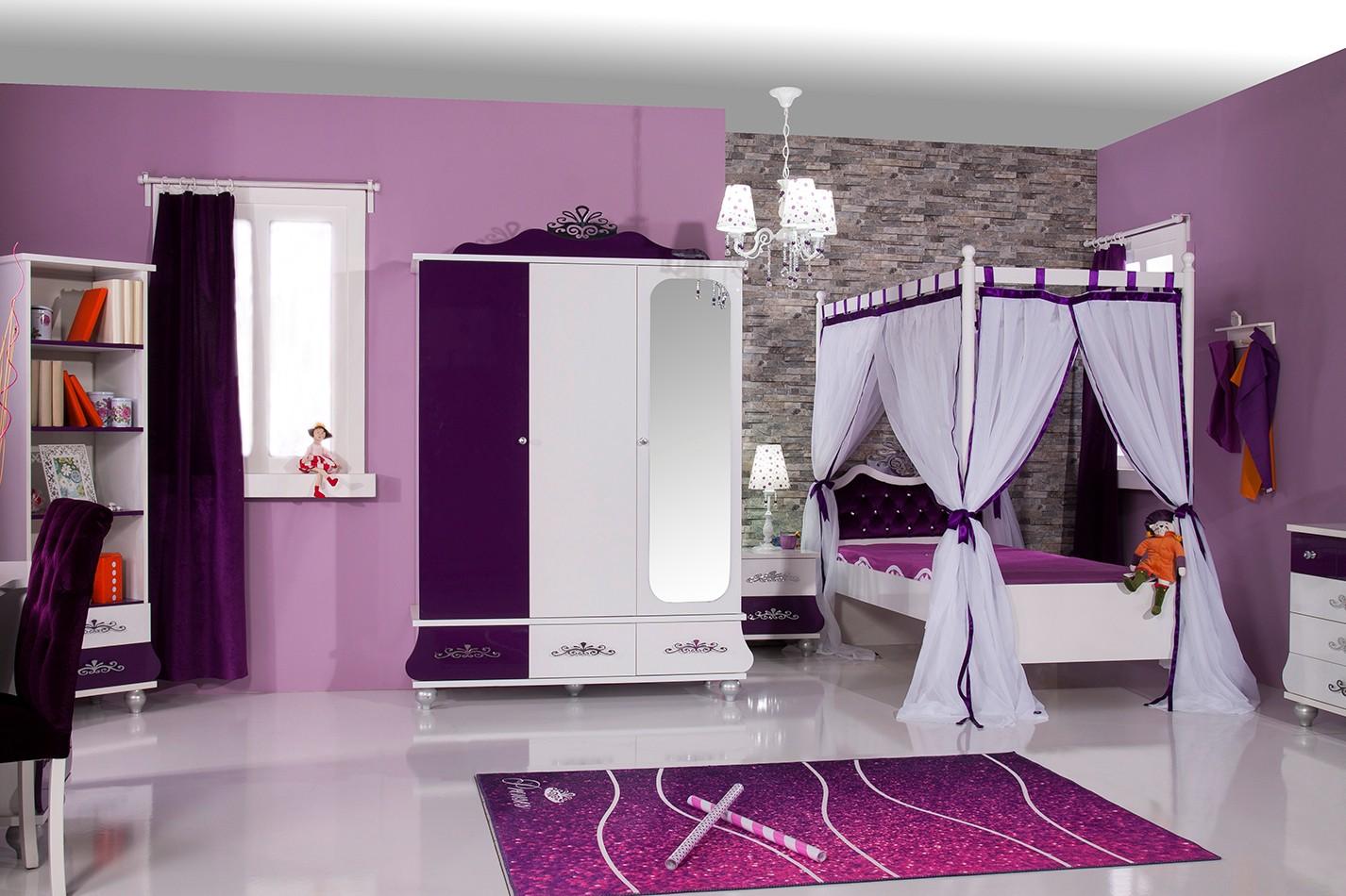 Meiden slaapkamer idee - Slaapkamer accessoire ...