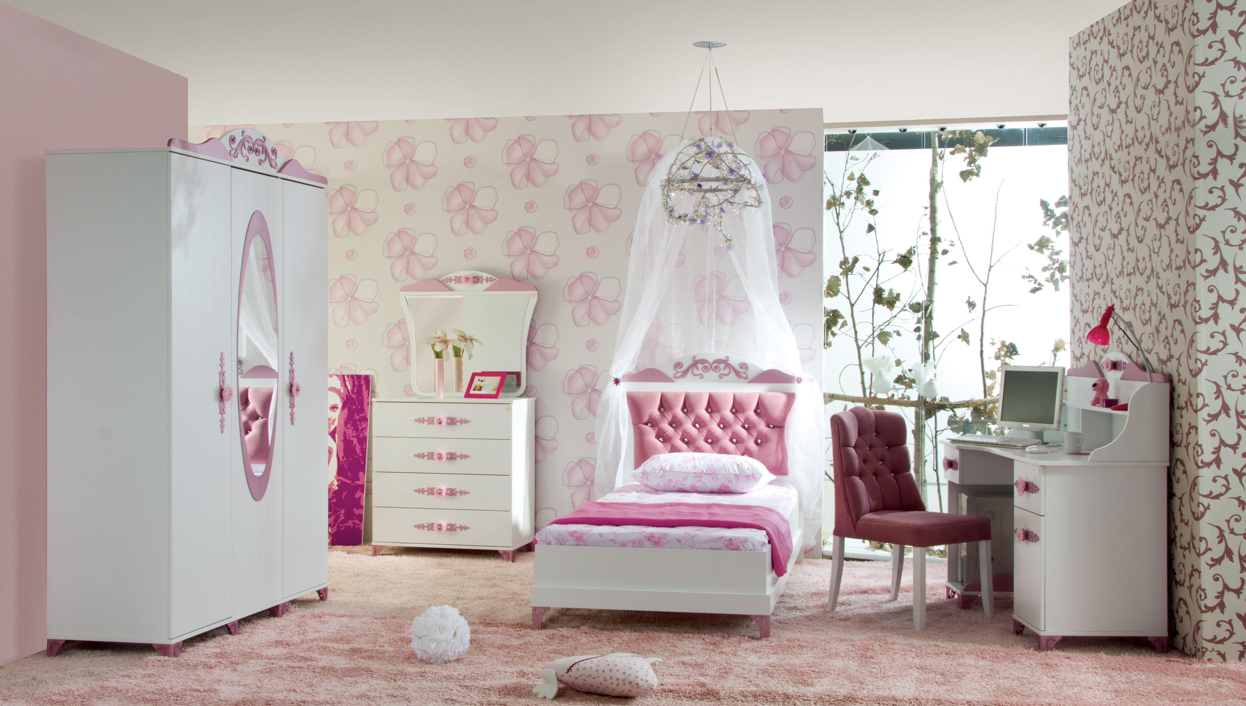 Kinderkamer Meiden : Pretty kledingkast voor de kinderkamer ...