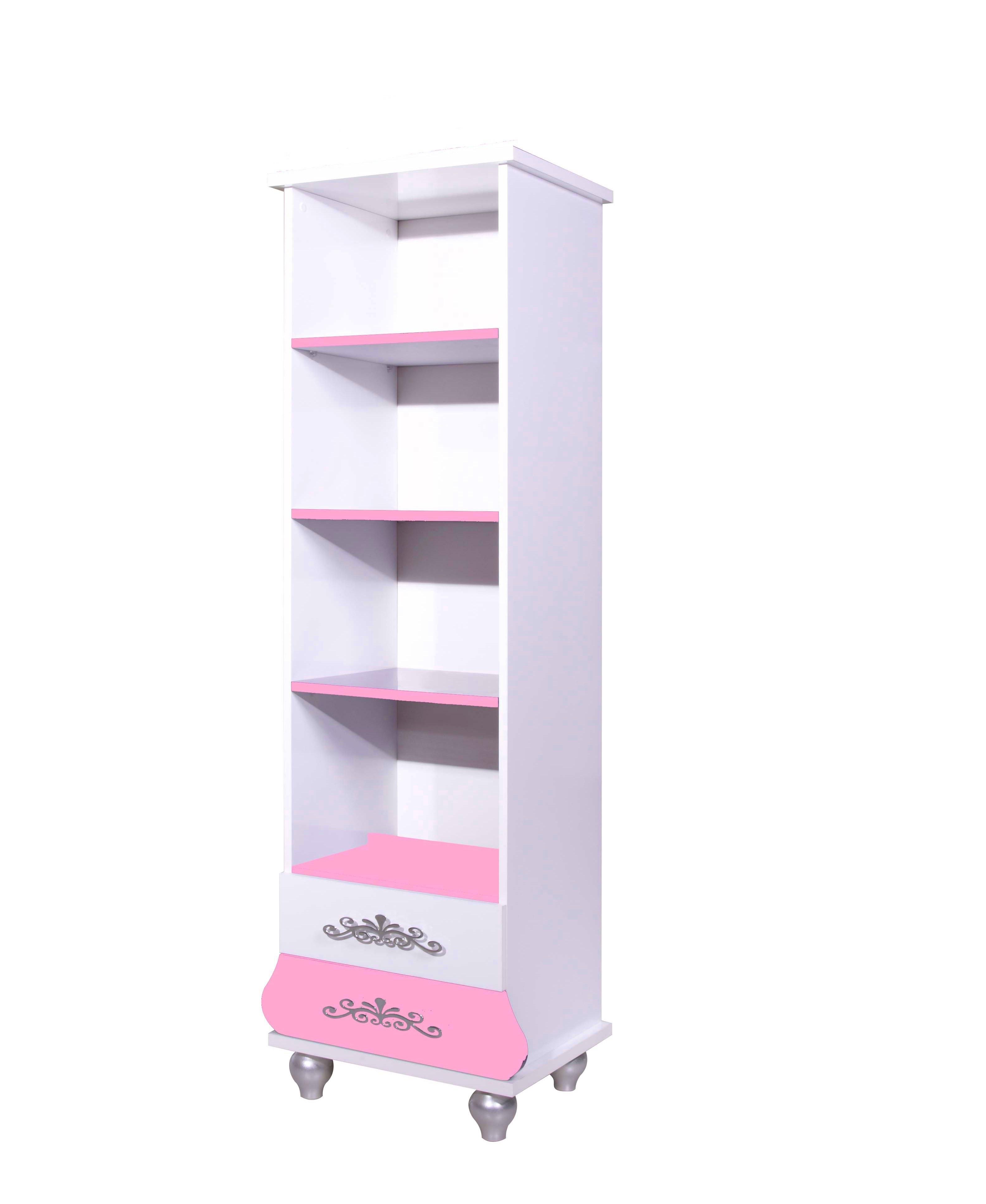 Prinses boekenkast roze wit koopt u bij huis en tuinwereld kinderkamer kinderbed terrashaard - Roze kinderkamer ...