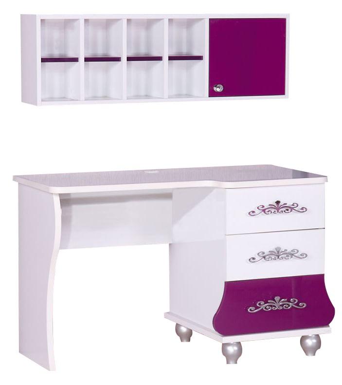 Prinses bureau paars/wit koopt u bij Huis en Tuinwereld! Kinderkamer ...