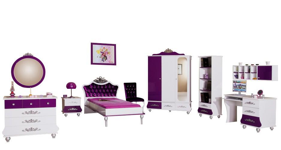 Prinses hemelbed kinderbed uit onze luxe prinsessen meubelserie Kinderkamer, kinderbed
