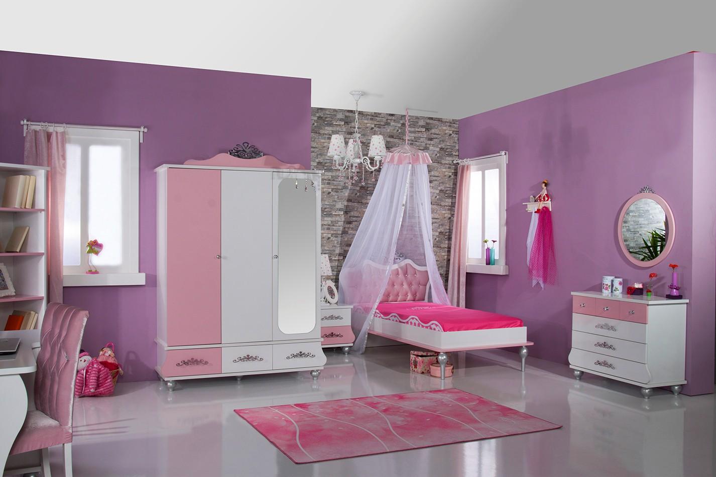 Prinses bed roze wit koopt u bij huis en tuinwereld kinderkamer kinderbed terrashaard en - Roze kinderkamer ...