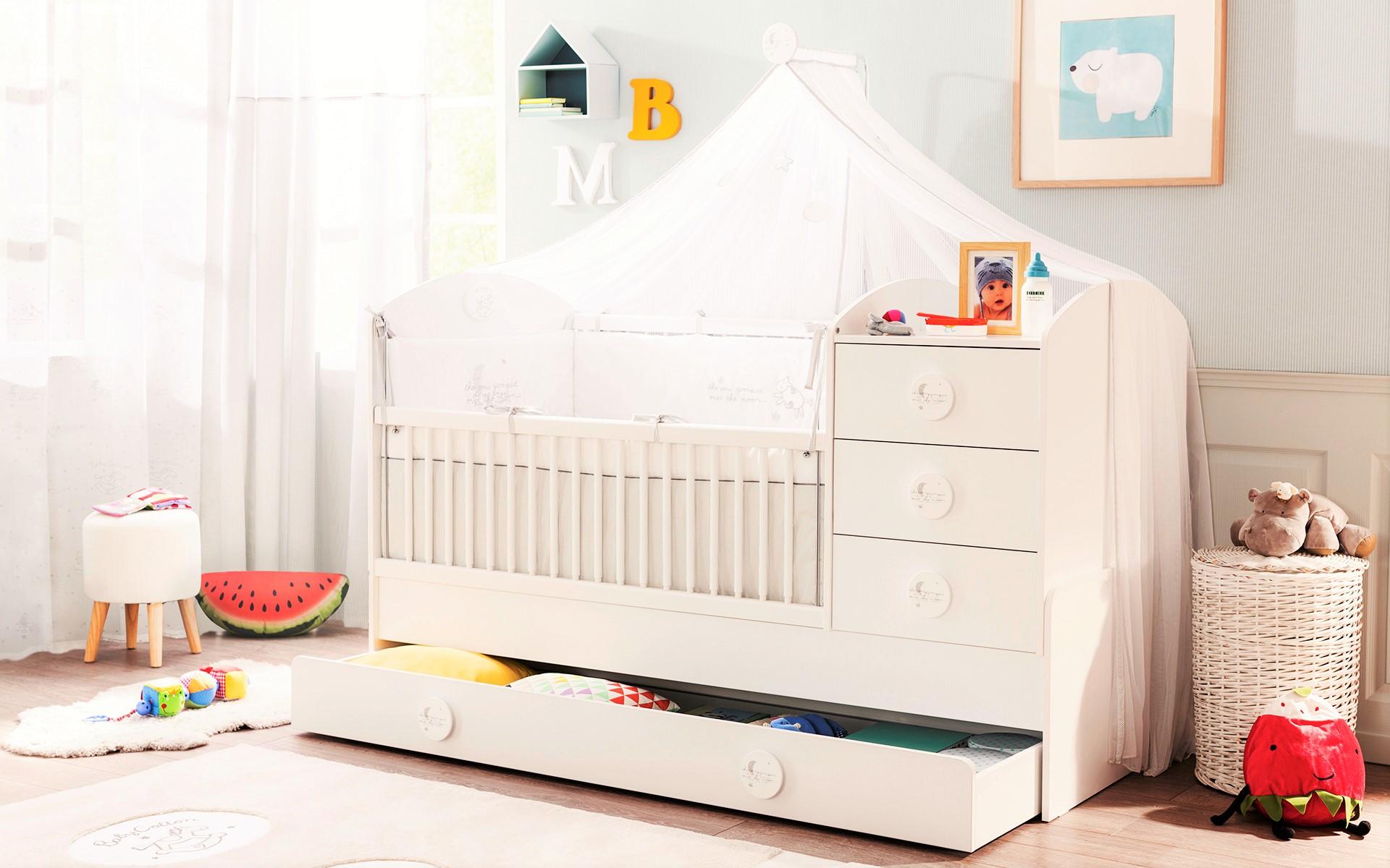 Slaapkamer Peuter : Sachsa babykamer peuterkamer Kinderkamer ...