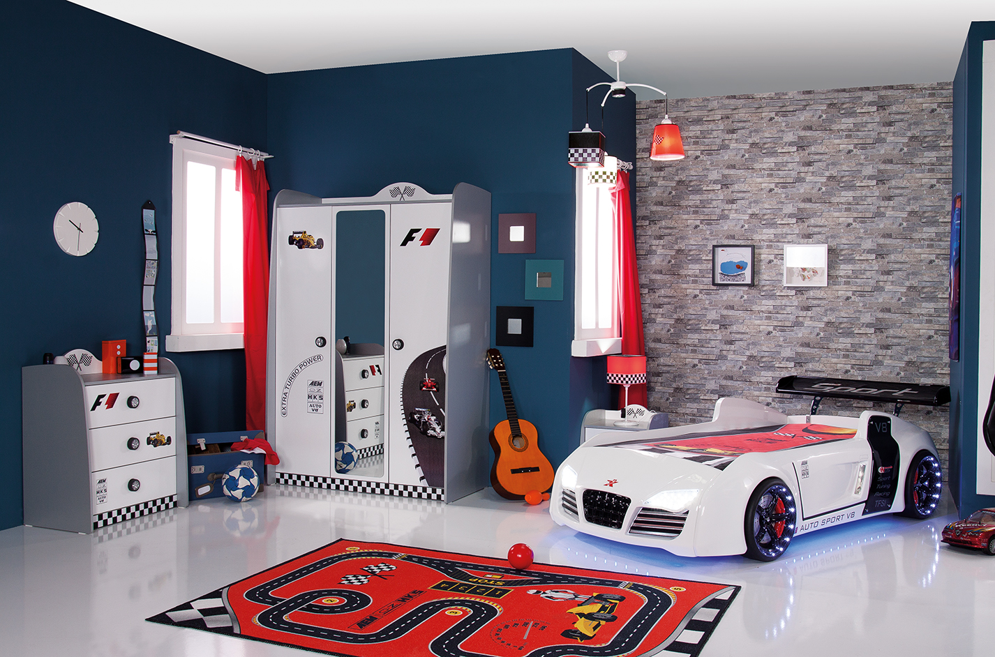 v power kinderkamer jongenskamer wit kinderkamer kinderbed terrashaard en barbecues. Black Bedroom Furniture Sets. Home Design Ideas