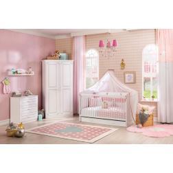 Emily meisjes babykamer