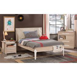Toscane tienerkamer slaapkamer