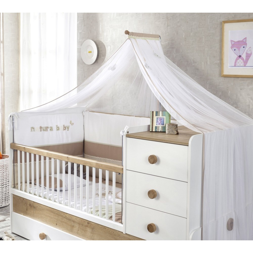 muskietennet klamboe wit babykamer jamie gratis verzending kinderkamer kinderbed. Black Bedroom Furniture Sets. Home Design Ideas