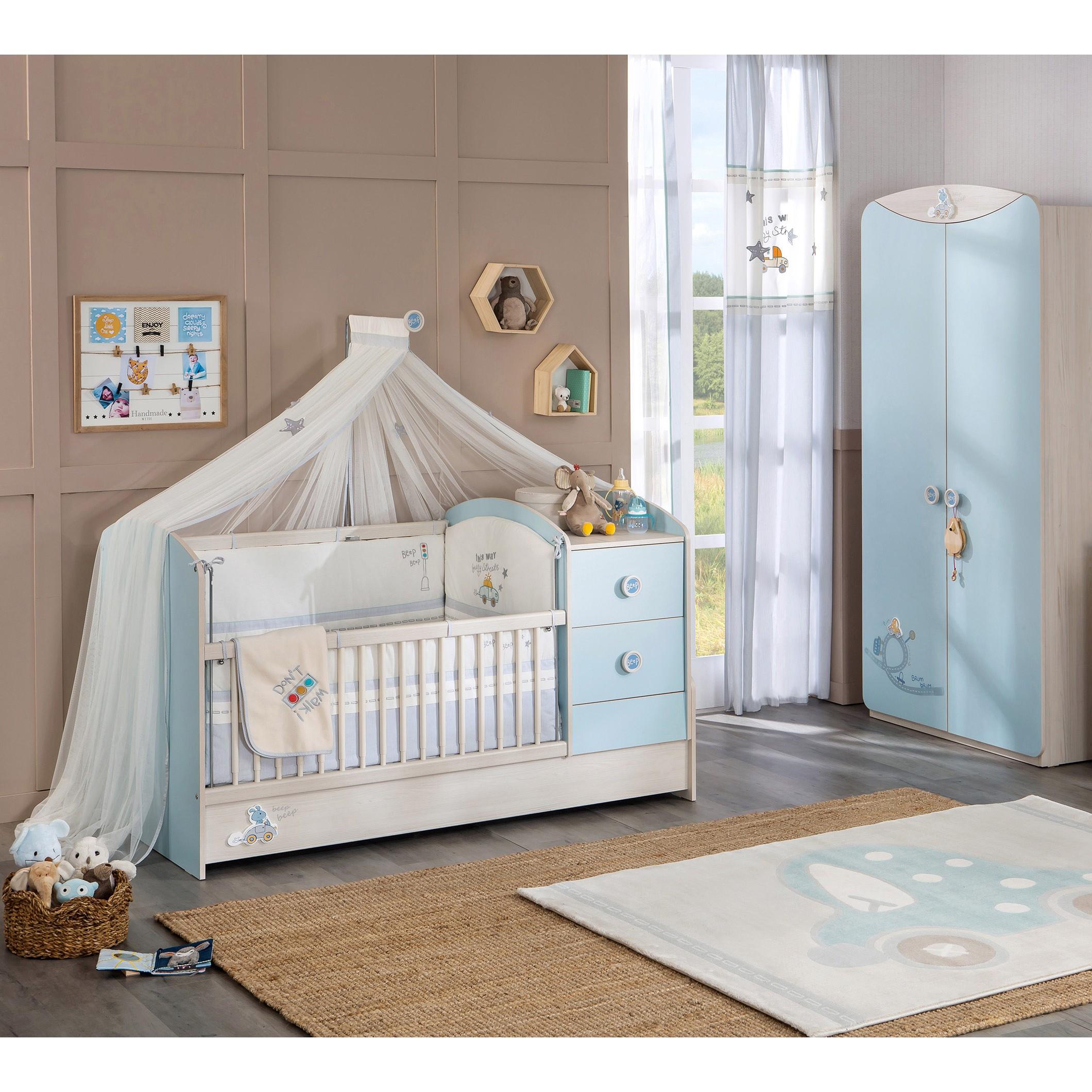 Baby Kamers Compleet.Baby Jongens Kamer Babykamer Houtlook Mooi Pin By Dekorasyon Bilgi