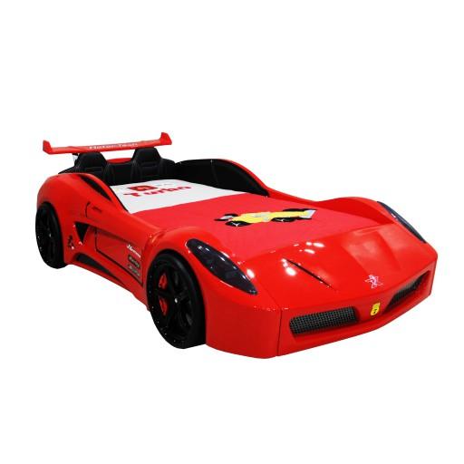 kinderbed autobed sport rood kinderkamer