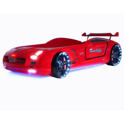 autobed rood