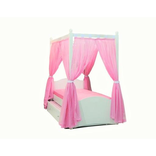 Meisjeskamer hemelbed Cindy roze