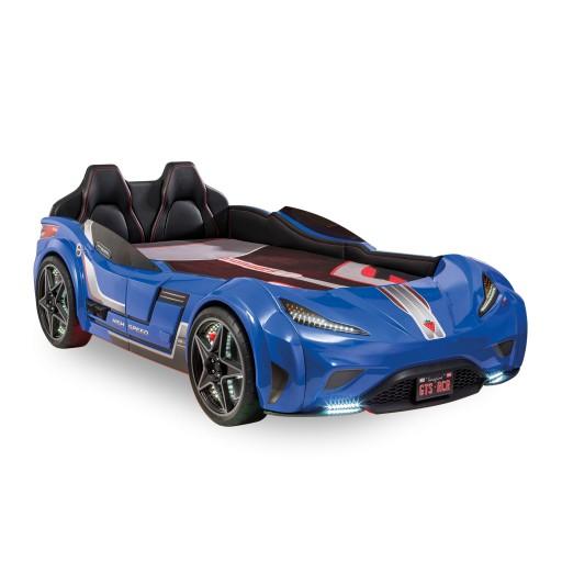 Gts racer blauw kinderbed autobed autokamer jongens