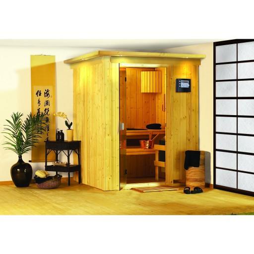 Karibu binnensauna Denin sauna