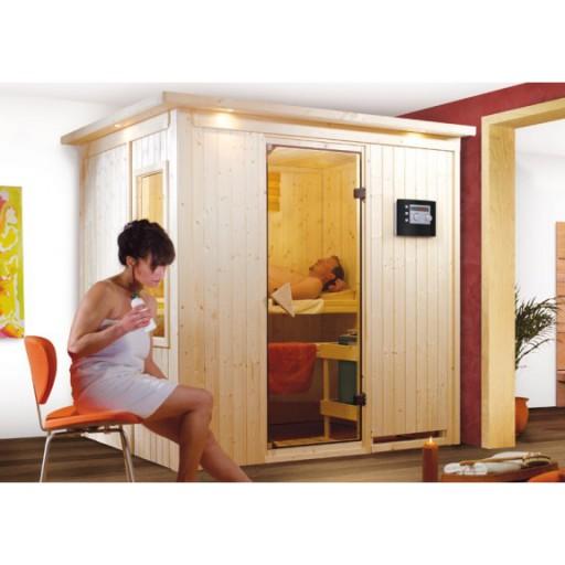 Karibu binnensauna Dodem complete sauna