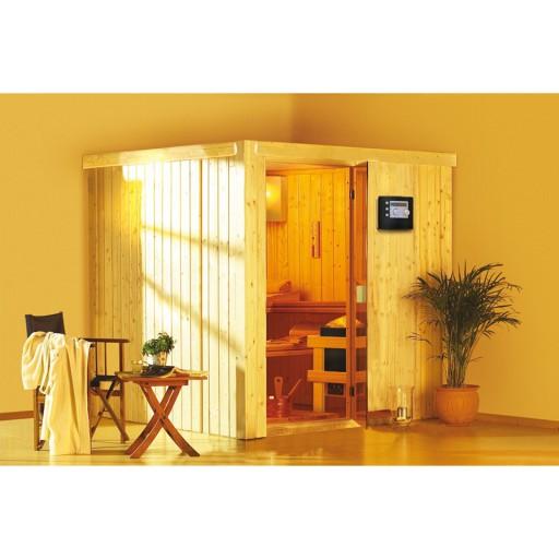 Karibu binnensauna Dorin sauna compleet