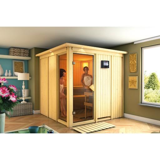 Karibu binnensauna Lehin compleet sauna