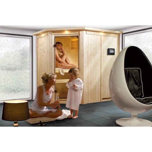 Karibu binnensauna Nacer sauna compleet