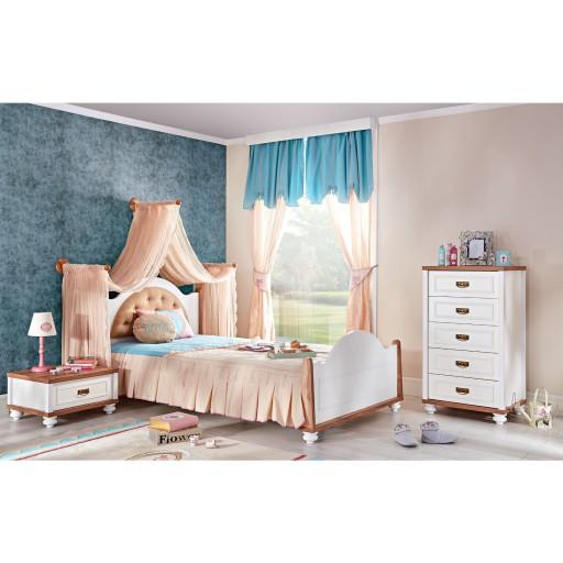 kinderbed kinderkamer wit hout jongens slaapkamer