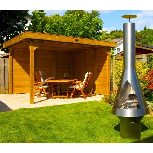 Laga Nova Lux RVS Excellent tuinkachel