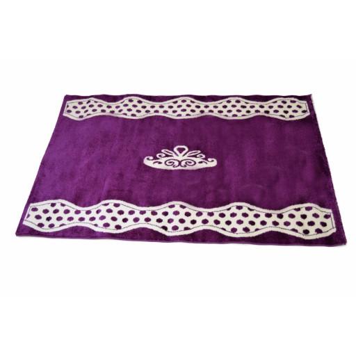 prinsessen paars tapijt prinses meisjeskamer