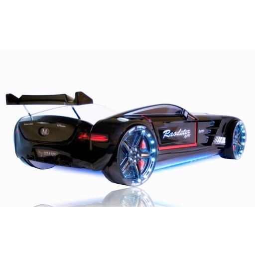 carbed zwart roadster