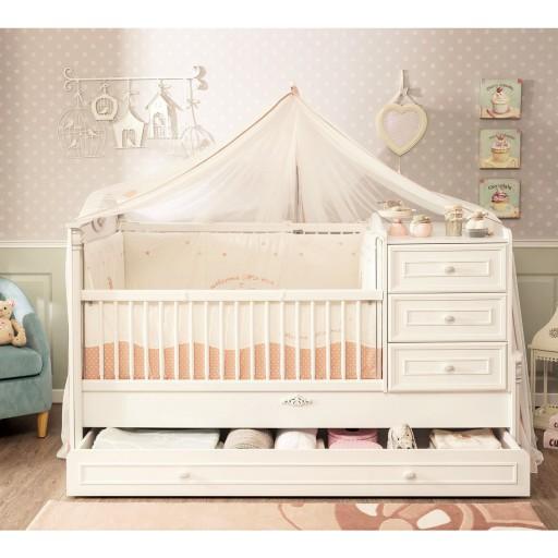 romantic babybed kinderbed inspiratie babykamer