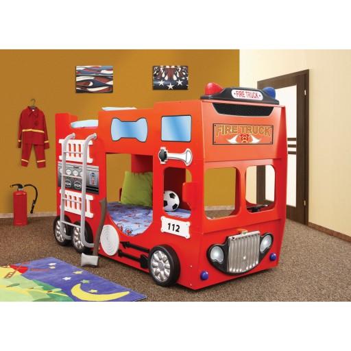 Kinderbed / autobed / brandweerbed