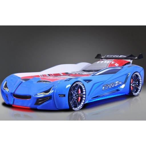 Autobed carbed street racer blauw racekamer kinderkamer