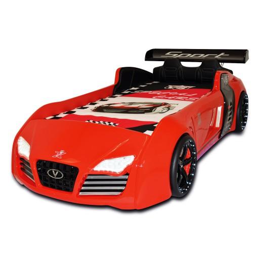 Autobed / Racebed V8 Sport | rood kinderbed jongensbed