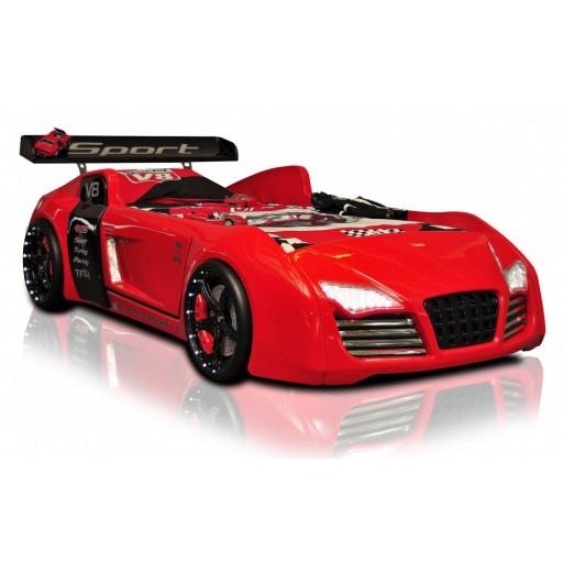 Autobed / Racebed V8 Turbo Rood