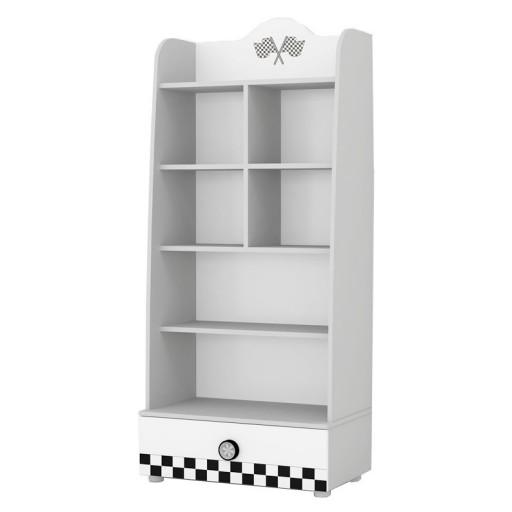 v power wit boekenkast kinderkamer