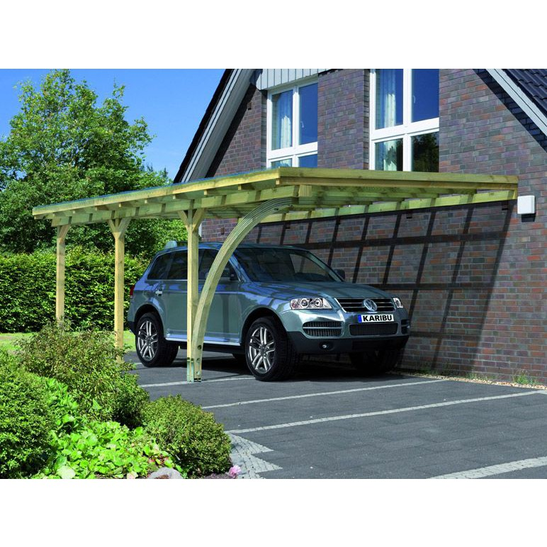 karibu aanbouw carport 3 363 x 622 cm kinderkamer kinderbed terrashaard en barbecues. Black Bedroom Furniture Sets. Home Design Ideas