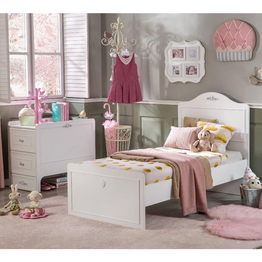 Babybed Met Kast.Romantic Babybed Ledikant Meegroeibed 4 In 1 Kinderkamer