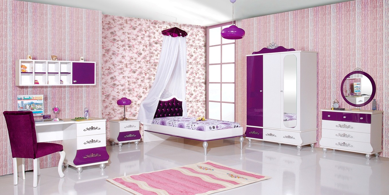 Prinses bureau roze wit koopt u bij huis en tuinwereld kinderkamer kinderbed terrashaard en - Slaapkamer van een meisje ...