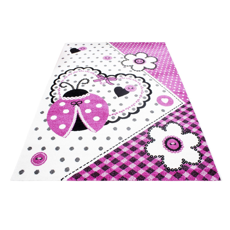 Bloem prinses tapijt vloerkleed meisjes kinderkamer kinderbed terrashaard en barbecues - Roze kinderkamer ...