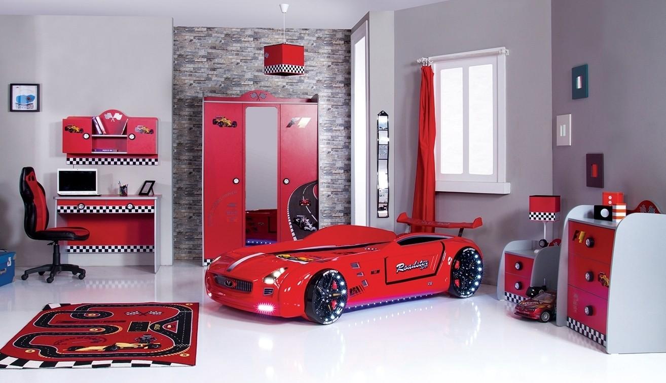 roadster autobed red edition kinderkamer, kinderbed, terrashaard, Deco ideeën