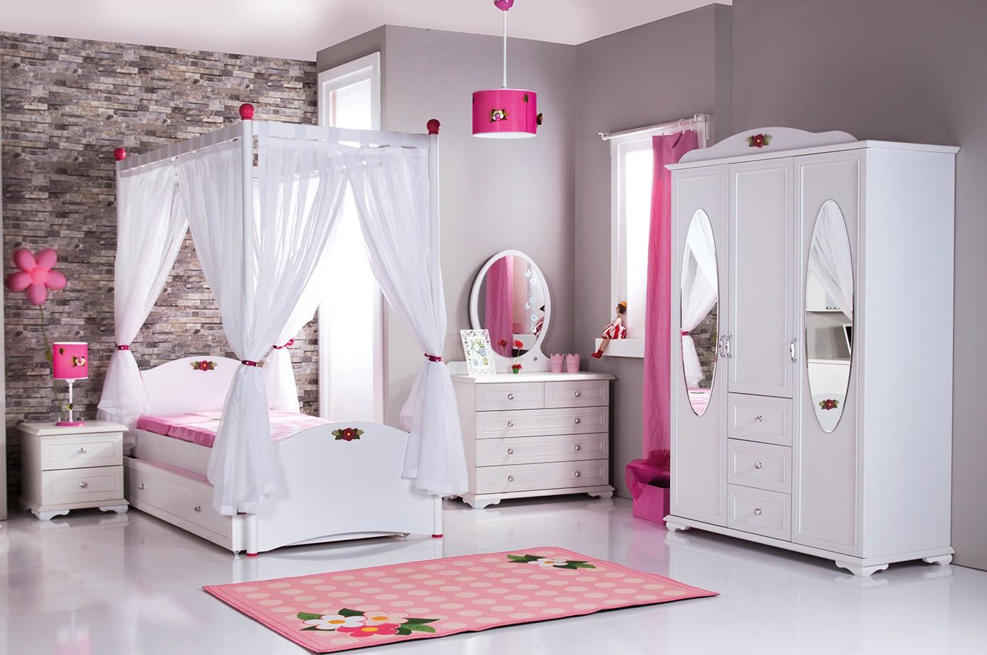 Cindy kinderladenkast met spiegel en 4 schuifladen te koop bij huis en tuin wereld kinderkamer - Meisjes kamer jaar ...