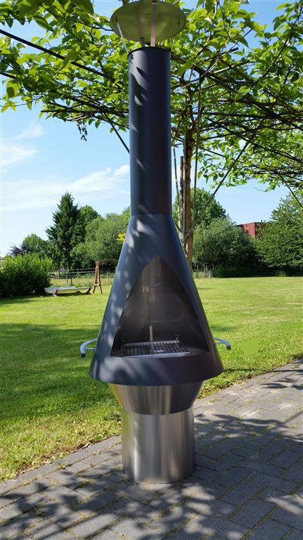 Laga Nova Lux RVS Excellent tuinkachel Kinderkamer, kinderbed, terrashaard en barbecues