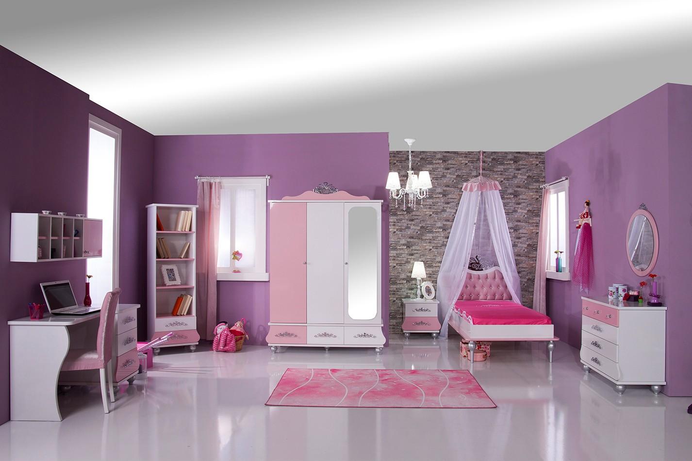 Prinses bed roze wit koopt u bij huis en tuinwereld kinderkamer kinderbed terrashaard en - Kamer modern meisje ...