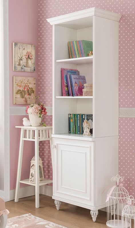 Romance boekenkast meisjes kamer Kinderkamer, kinderbed, terrashaard ...