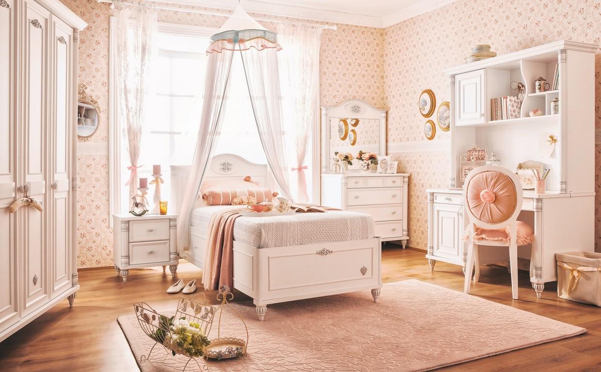 romantic kindernachtkastje meisjes kamer kinderkamer, kinderbed, Deco ideeën