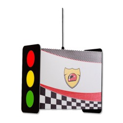 Champion Racer hanglamp stoplicht jongenskamer
