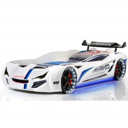 Auto bed Racebed Street Racer | wit kinderbed