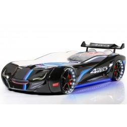Auto bed Racebed Street Racer | zwart kinderbed