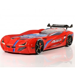 Auto bed Racebed Street Racer | rood kinderbed