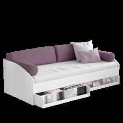 California bedbank wit 200 x 90 cm