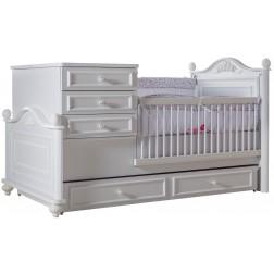 Bella babybed ledikant meegroeibed babykamer