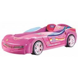 Autobed BiTurbo | roze kinderbed meisjes bed